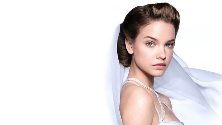 Barbara Palvin Blue Eyes Looking At Camera Photoshoot